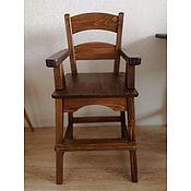 Стулья ручной работы. Ярмарка Мастеров - ручная работа Высокий детский стул  (орех). Handmade.