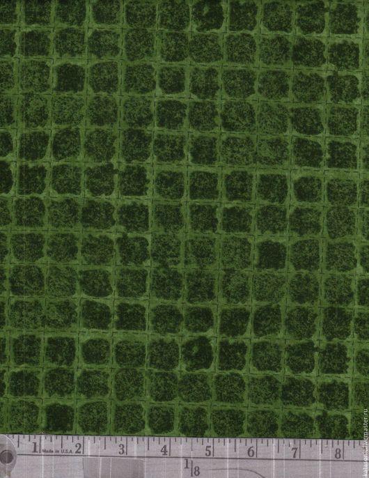 Шитье ручной работы. Ярмарка Мастеров - ручная работа. Купить 1195 Два вида, Американская ткань. Handmade. Тёмно-зелёный