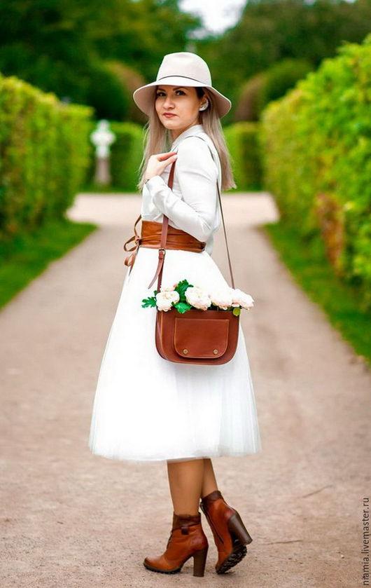 Юбки ручной работы. Ярмарка Мастеров - ручная работа. Купить Белая юбка из Фатина. Handmade. Юбка, юбка-пачка, фатин