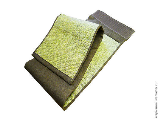Пояса, ремни ручной работы. Ярмарка Мастеров - ручная работа. Купить Пояс из волокон крапивы двудомной. Ширина 20 см.. Handmade.