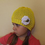 """Работы для детей, ручной работы. Ярмарка Мастеров - ручная работа Щапочка """"Пчела"""". Handmade."""