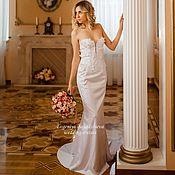 """Платья ручной работы. Ярмарка Мастеров - ручная работа Свадебное платье """"рыбка"""". Handmade."""