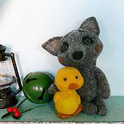Куклы и игрушки ручной работы. Ярмарка Мастеров - ручная работа новый год валяная игрушка Сладкая парочка. Handmade.