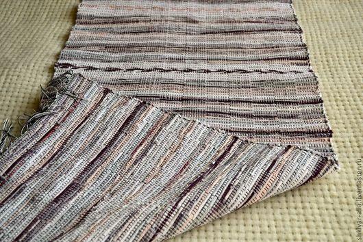 Текстиль, ковры ручной работы. Ярмарка Мастеров - ручная работа. Купить Половик ручного ткачества(№17). Handmade. Серый, коврик