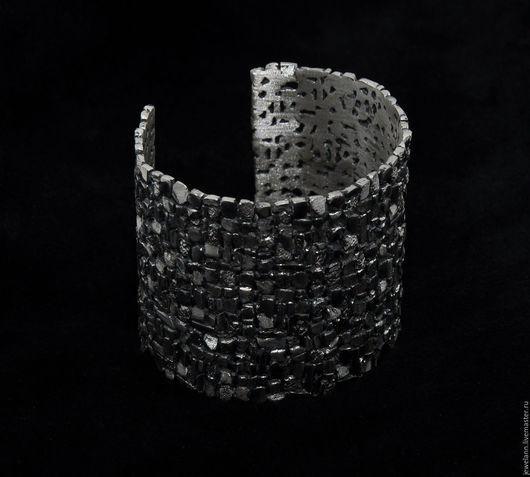 """Браслеты ручной работы. Ярмарка Мастеров - ручная работа. Купить Браслет """"Серебрянная мостовая"""". Handmade. Серебряный браслет, подарок для женщины"""