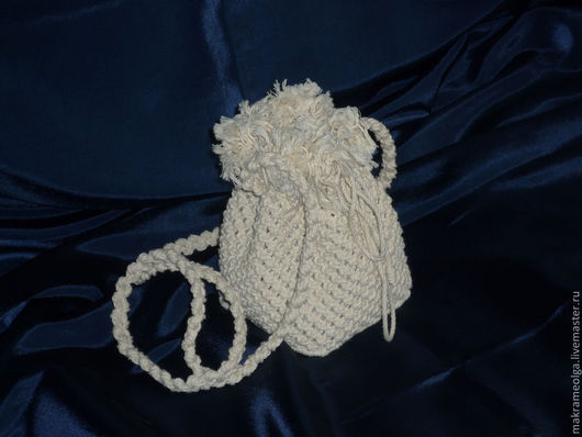 Женские сумки ручной работы. Ярмарка Мастеров - ручная работа. Купить Плетеная женская сумка торба №1. Handmade. Бежевый