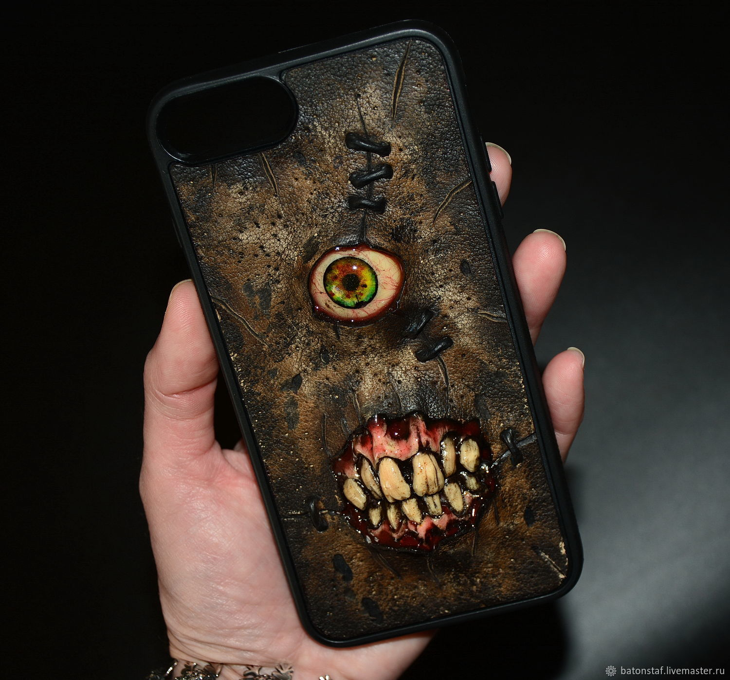 Phone case-Necronomicon, Subculture Attributes, Moscow,  Фото №1