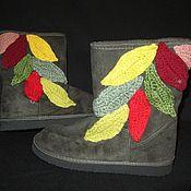 """Обувь ручной работы. Ярмарка Мастеров - ручная работа Сапожки """"листопад"""". Handmade."""