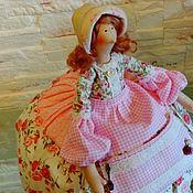 Куклы и игрушки ручной работы. Ярмарка Мастеров - ручная работа Куколка Тильда на чайник. Handmade.