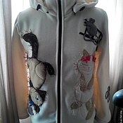 Одежда handmade. Livemaster - original item The hoodie Polartec