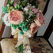 Свадебный салон ручной работы. Ярмарка Мастеров - ручная работа букет невесты. Handmade.