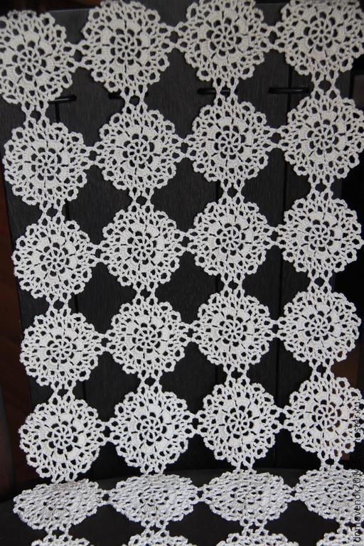 Текстиль, ковры ручной работы. Ярмарка Мастеров - ручная работа. Купить Дорожка (набор) Пианино. Handmade. Белый, салфетка
