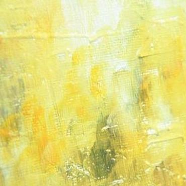 Картины и панно ручной работы. Ярмарка Мастеров - ручная работа Картина маслом «Солнечный туман». Handmade.