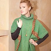 Одежда ручной работы. Ярмарка Мастеров - ручная работа свитер-туника в стиле оверсайз. Handmade.