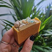 Косметика ручной работы handmade. Livemaster - original item Pumpkin Cheesecake Soap