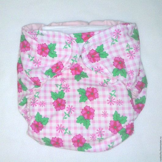 Одежда ручной работы. Ярмарка Мастеров - ручная работа. Купить Размер от 2 лет. Многоразовый подгузник на ночь для малышей. Handmade.