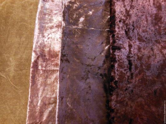 Шитье ручной работы. Ярмарка Мастеров - ручная работа. Купить Плюш коричневый. Handmade. Коричневый, плюш