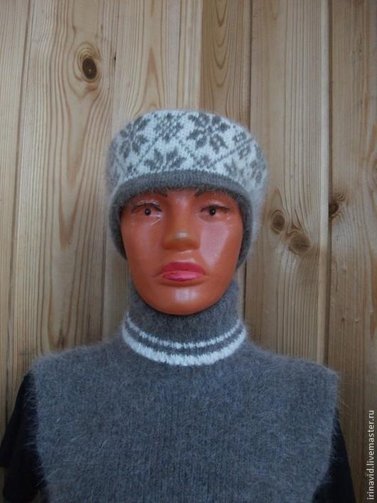 Повязки ручной работы. Ярмарка Мастеров - ручная работа. Купить Повязка на голову из собачьей шерсти. Handmade. Собачья шерсть, шапка