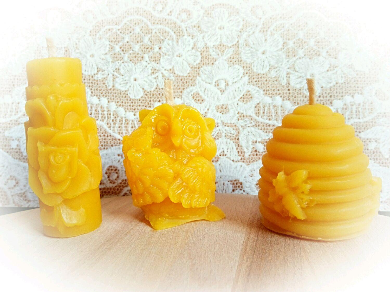 Массажная свеча своими руками из пчелиного воска 20