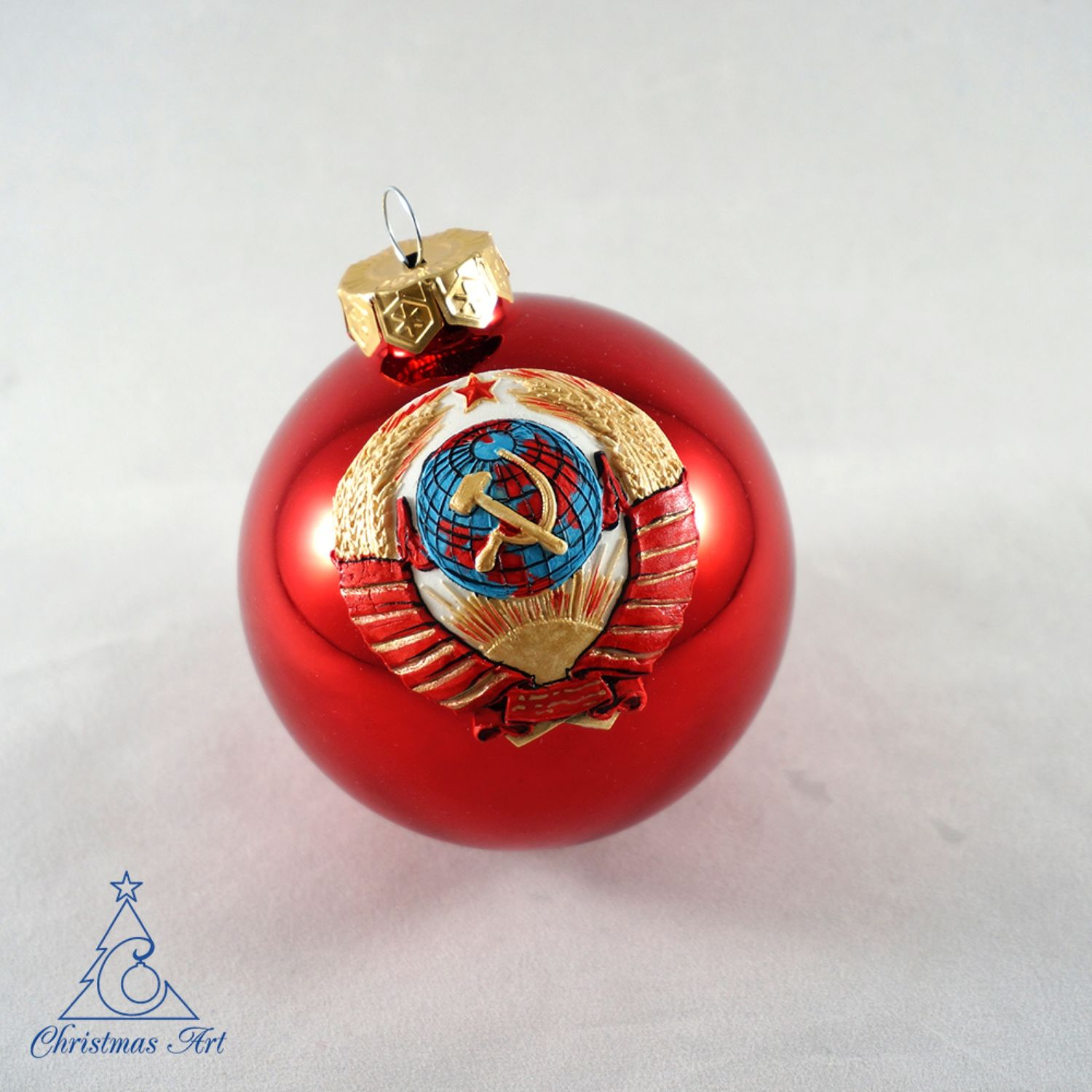 Christmas ball Christmas ball Christmas decoration emblem of the