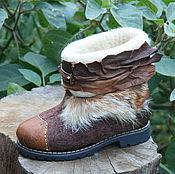 Обувь ручной работы. Ярмарка Мастеров - ручная работа Лиса. Handmade.