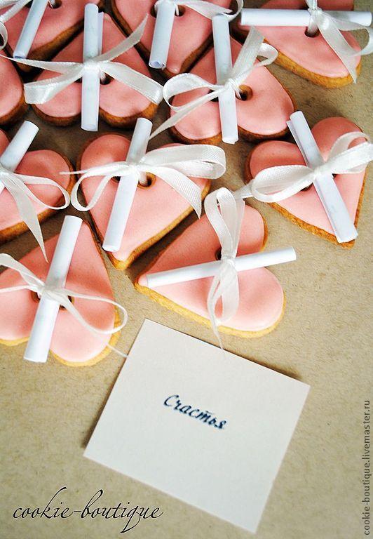 Пожелания на бумажках в печенье