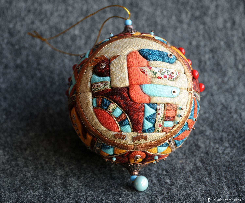 "Новогодний шар ""Зверюшки"", Елочные игрушки, Королев,  Фото №1"