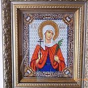 Картины и панно handmade. Livemaster - original item The icon of St. Martyr Valentina. Handmade.