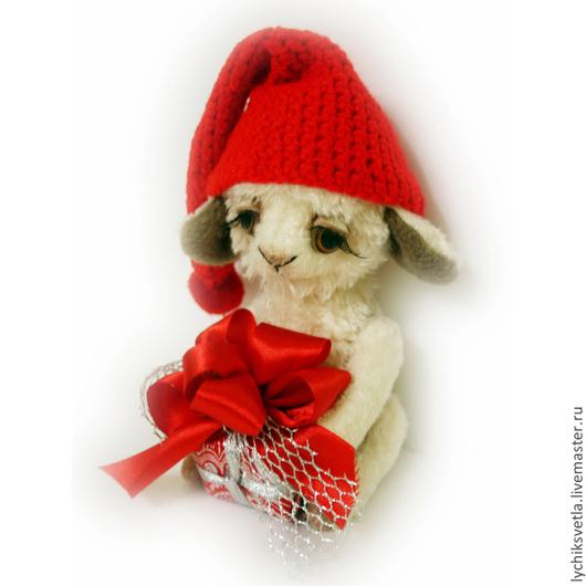 Мишки Тедди ручной работы. Ярмарка Мастеров - ручная работа. Купить овечка Дени. Handmade. Овечка, подарок, новый год 2015
