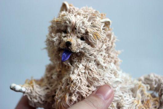 """Игрушки животные, ручной работы. Ярмарка Мастеров - ручная работа. Купить фигурка """"Чау-чау"""" (из пластика) (собака породы чау-чау). Handmade."""