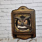 Для дома и интерьера handmade. Livemaster - original item Key holders wall: homemaker