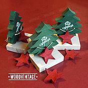 Подарки к праздникам ручной работы. Ярмарка Мастеров - ручная работа Не съезжай! Елка новогодний подарок сувенир. Handmade.