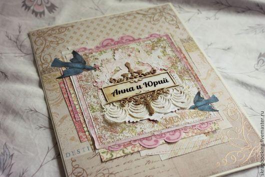 Свадебные открытки ручной работы. Ярмарка Мастеров - ручная работа. Купить Свадебная открытка. Handmade. Свадебная открытка, бежевый