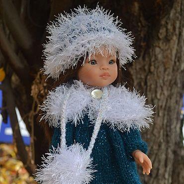 """Куклы и игрушки ручной работы. Ярмарка Мастеров - ручная работа Платье, шапочка и муфта """"Герда"""" для куклы Paola Reina.. Handmade."""