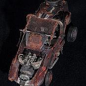 Сувениры и подарки ручной работы. Ярмарка Мастеров - ручная работа автомобиль из вселенной Mad Max. Handmade.