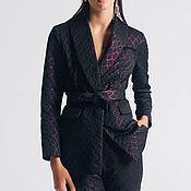 Одежда ручной работы. Ярмарка Мастеров - ручная работа Брючный костюм бордо. Handmade.