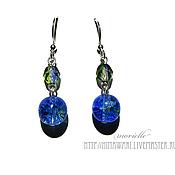 Украшения handmade. Livemaster - original item earrings Earth. Handmade.