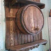 Для дома и интерьера ручной работы. Ярмарка Мастеров - ручная работа бар-бочка. Handmade.