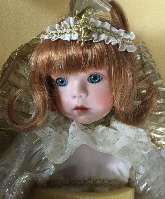 """Винтажные куклы и игрушки. Ярмарка Мастеров - ручная работа. Купить Коллекционная кукла серии """"Рождественский ангел"""" Габриэлла 1998г.. Handmade."""
