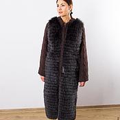 Одежда handmade. Livemaster - original item Coat of wool with Fox fur. Handmade.