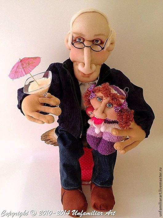 """Портретные куклы ручной работы. Ярмарка Мастеров - ручная работа. Купить Текстильная Портретная Кукла по Фотографии """"Майор разведки"""" на Заказ. Handmade."""