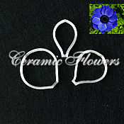 Материалы для творчества handmade. Livemaster - original item Cutter of anemone petals, plastic. Handmade.