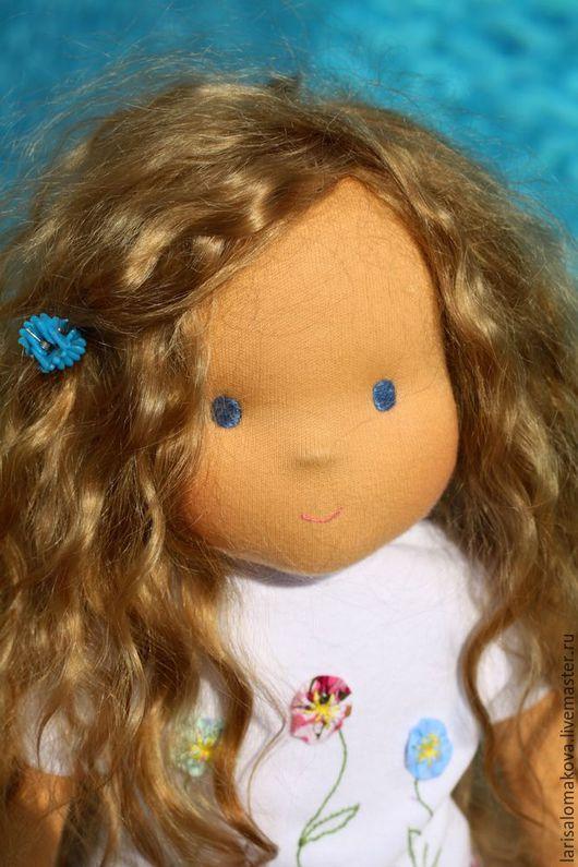 Вальдорфская игрушка ручной работы. Ярмарка Мастеров - ручная работа. Купить вальдорфская кукла  Александра 38-40 см. Handmade.