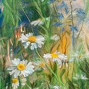 """Картины и панно ручной работы. Ярмарка Мастеров - ручная работа """"В траве"""". Handmade."""