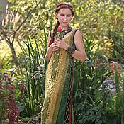 Одежда handmade. Livemaster - original item Fishnet dress to the floor