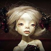 Куклы и игрушки ручной работы. Ярмарка Мастеров - ручная работа Lilian Gothic doll шарнирная кукла. Handmade.