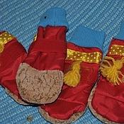 Для домашних животных, ручной работы. Ярмарка Мастеров - ручная работа Сапожки для маленькой собаки. Handmade.