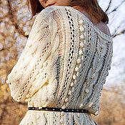 Одежда ручной работы. Ярмарка Мастеров - ручная работа Пуловер Адажио. Handmade.