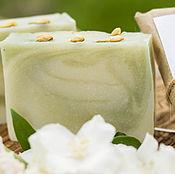 """Мыло ручной работы. Ярмарка Мастеров - ручная работа """"Весенний жасмин"""" натуральное мыло. Handmade."""