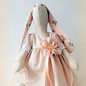 Куклы и игрушки ручной работы. Ярмарка Мастеров - ручная работа Зайка с гусем игровая. Handmade.